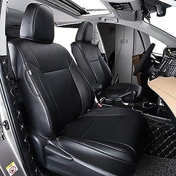 Amazon Com Behave Autos Ra Zd001 Car Leather Seat Covers