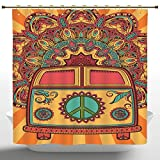Decorative Shower Curtain by iPrint%2C70