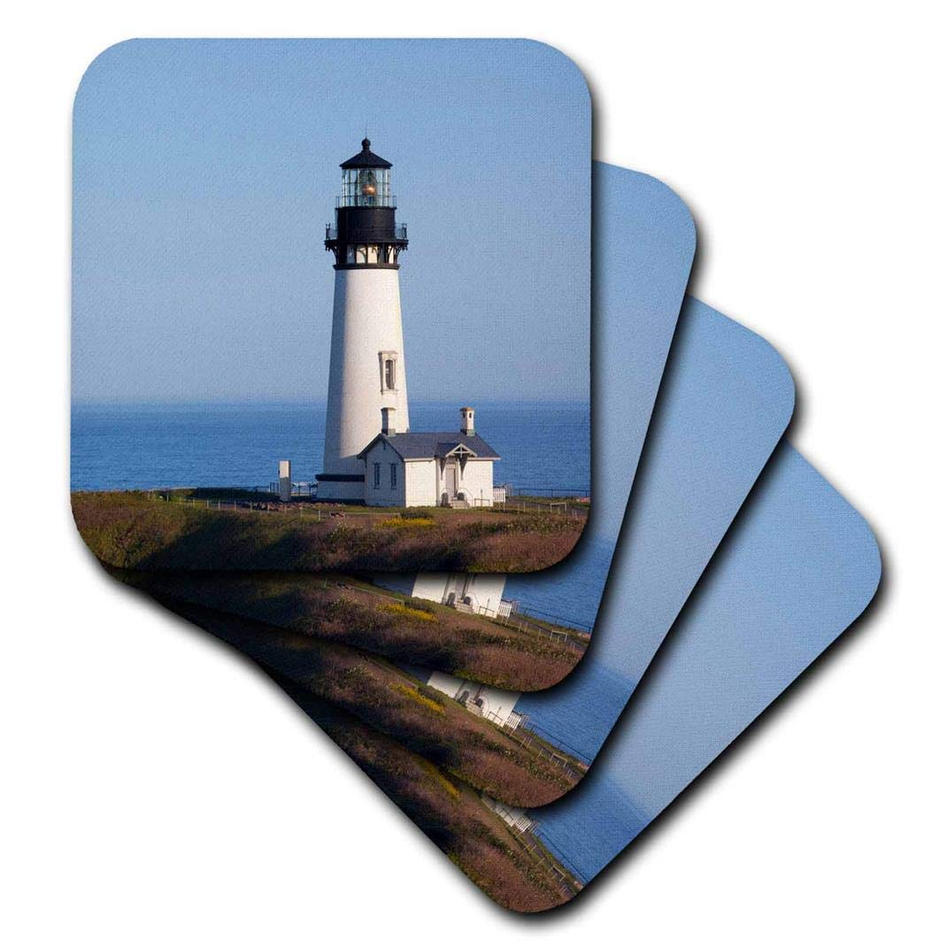 USA Us38 Jwi0458 Jamie and Judy Wild Soft Coasters Newport 3dRose CST/_145729/_2 Yaquina Head Lighthouse Set of 8 Oregon