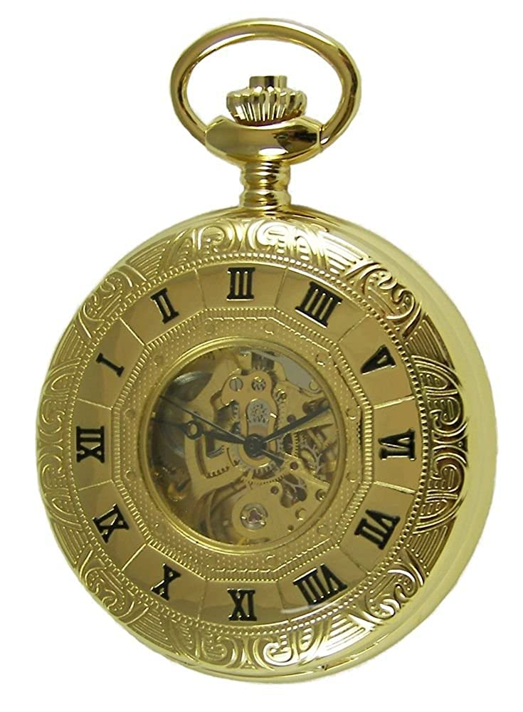 d7d249714614 Amazon.com  Personalized Meisterwerk Gold Pocket Watch M1863  Watches