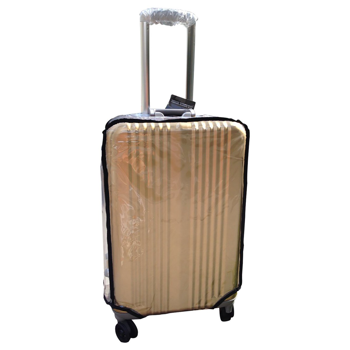 Clear Luggage Cover Protector, Cover for Travel Luggage (Zipper Style 30'')
