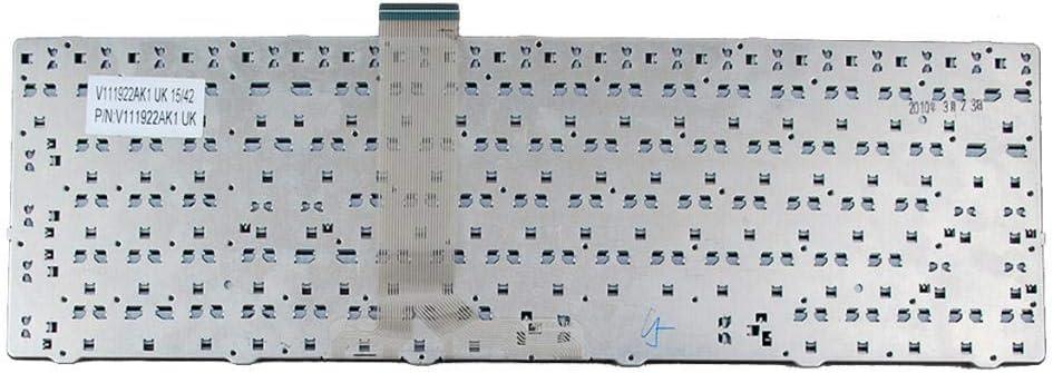 Almencla New US Keyboard for MSI GR620 GT660 GT680 GT683 GX660 GX680 Series