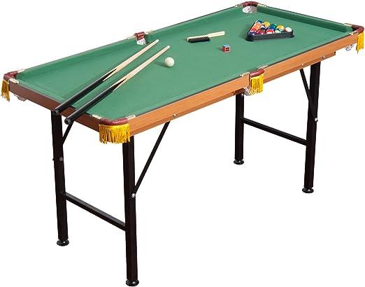 "HOMCOM 55"" Portable Folding Billiards Table - Best Quality Built"