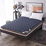 DHWJ Cotton mattress,Student [dorm room] [individual] Tatami mattress,Mattress mattress mattress-M 110x190cm(43x75inch)