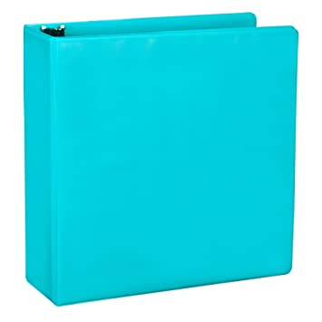 Amazon.com : Samsill Fashion Color Durable 3 Ring View Binders, 2 ...