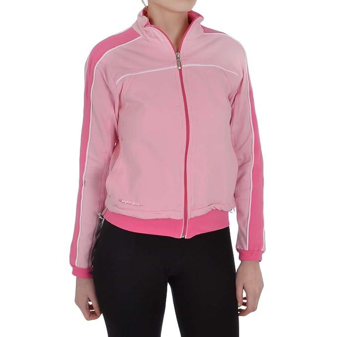 Astrolabio - Giacca sportiva - Maniche lunghe - Donna rosa rosa ... 38228bbcad9