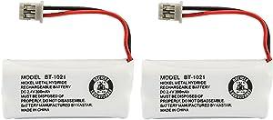 Kastar 2-Pack BBTG0798001 Model BT1021 Cordless Phone Battery for Uniden BT-1021 & Uniden D1361 D1364 D1384 D1483 D1660 D1680 D1685 D1688 D1760 D1780 D1785 D1788 DECT1363 DECT 2060 DECT 2080 DECT2888