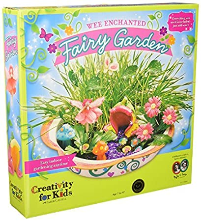 Enchanted Fairy Garden Kit By Faber Castell