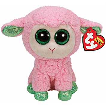 448f9f31128 Amazon.com  Ty Beanie Boos - Leyla the Sheep Lamb  Baby