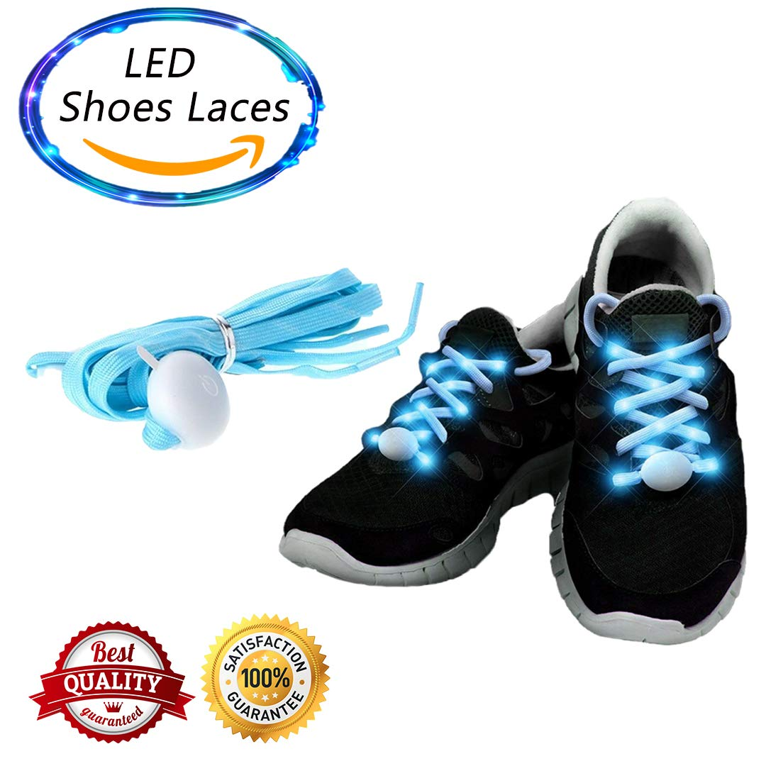 Adult,Kid,Children Blue Led Shoes Laces for Party and Event
