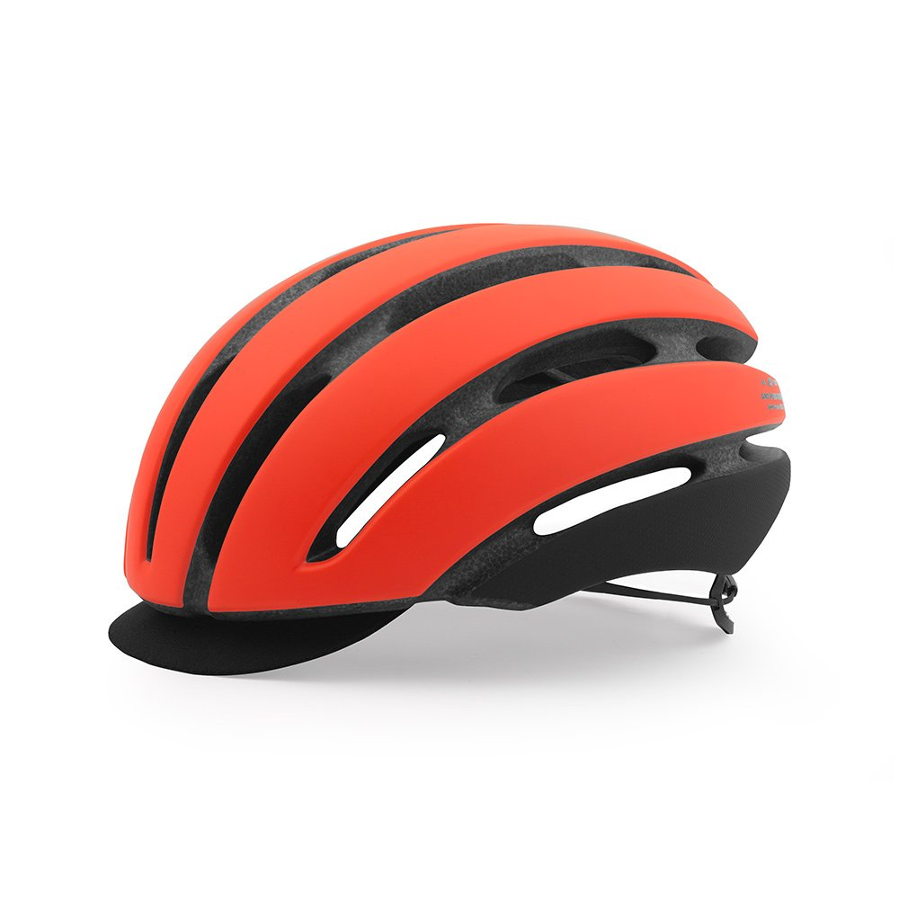Giro Aspect Rennrad Fahrrad Helm Orange 2017