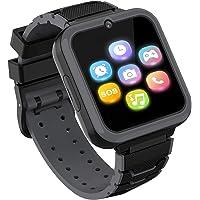 Smartwatch-telefon för pojkar flickor med HD-pekskärm, smartklocka för barn med spel musikspelare tvåvägssamtal SOS…