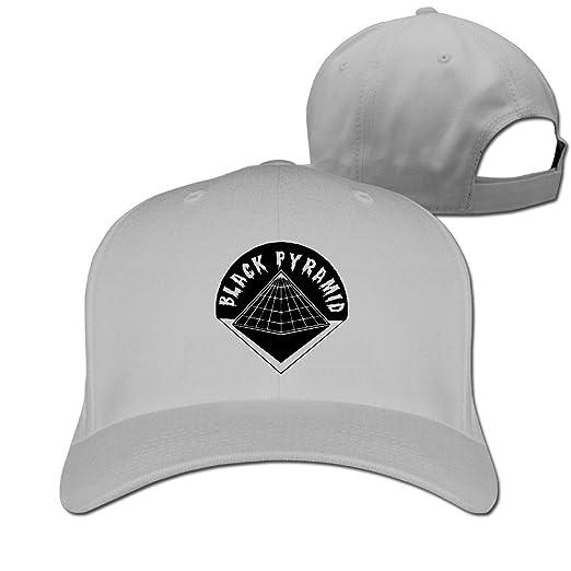Men s Unisex BLACK PYRAMID Logo Rock Cap Adjustable Trucker Hat at ... aabb6dc1ae8