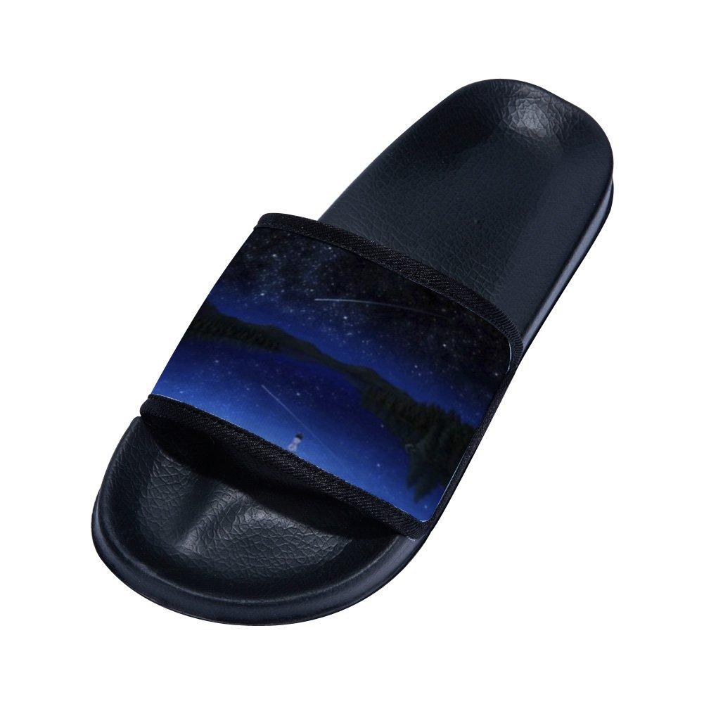 Little Kid//Big Kid GordonKo Slide Sandals for Boys Girls Comfortable Anti-Slip Bath Sandal
