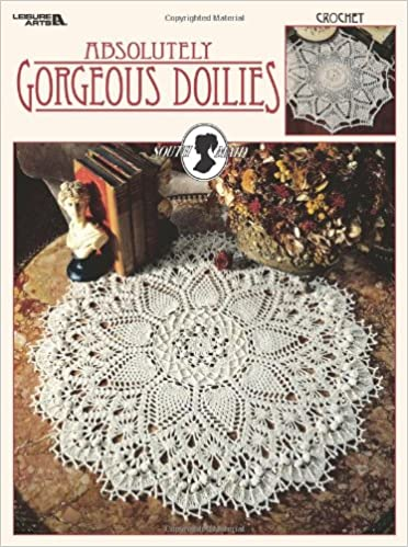 Absolutely Gorgeous Doilies Leisure Arts 2879 South Maid Cover
