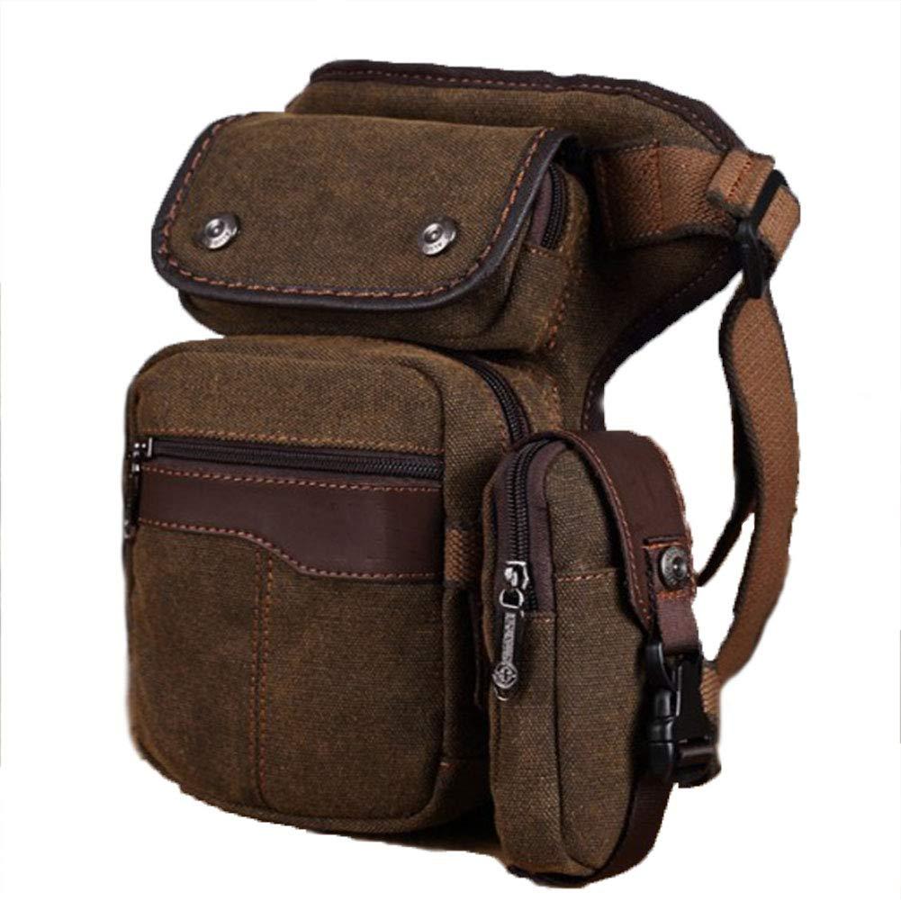 9e9901fdf8 Amazon.com: RANRANHOME Vintage Canvas Leg Bag Waterproof Airsoft ...