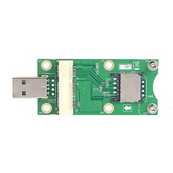 JUNERAIN Mini Adaptador PCI-E a USB con Ranura para Tarjeta ...