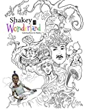 Shakey in Wonderland: Coloring Book for Adults (Blast Avenue) (Volume 1)