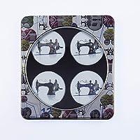 Exclusivo de Amazon. 4unidades Vintage máquina de coser