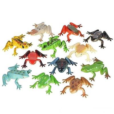"Poison Dart Frogs - 2"" Plastic - 36 Pack"
