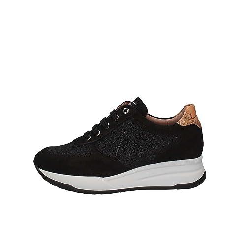 Alviero Martini 1 Classe 0046 0218 W999 Sneakers Donna Nero 40  Amazon.it   Scarpe e borse 93af6057e36