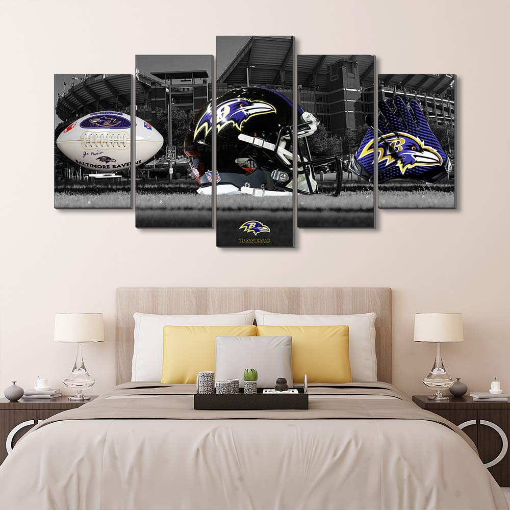 Amazon.com: Super Bowl Baltimore Ravens Logo M&T Bank ...