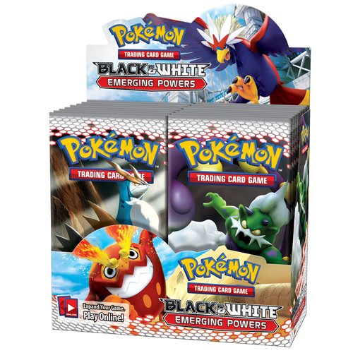 Pokémon TCG: Black & White 2 Emerging Powers Booster Display (Pack of 36 boosters in a Display)