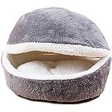 GossipBoy - Conception amovible de panier pour animal de compagnie, Sac de couchage et tapis lavable confortable pour chatons, chats, chiens et chiots fouisseurs–obtenez le plus chaud abri douillet et confortable pour votre animal