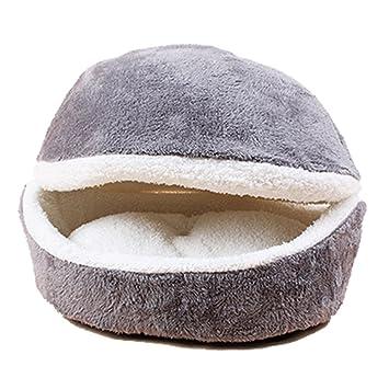 GossipBoy - Cama para mascotas tipo saco de dormir, con base lavable, casa cómoda
