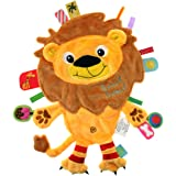 Label-LL-FR1207-Label   friends doudou Lion peluche