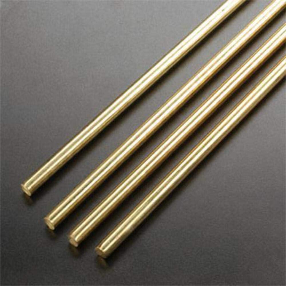 Dia x 12 in L Round  Brass Rod K/&S  3//16 in