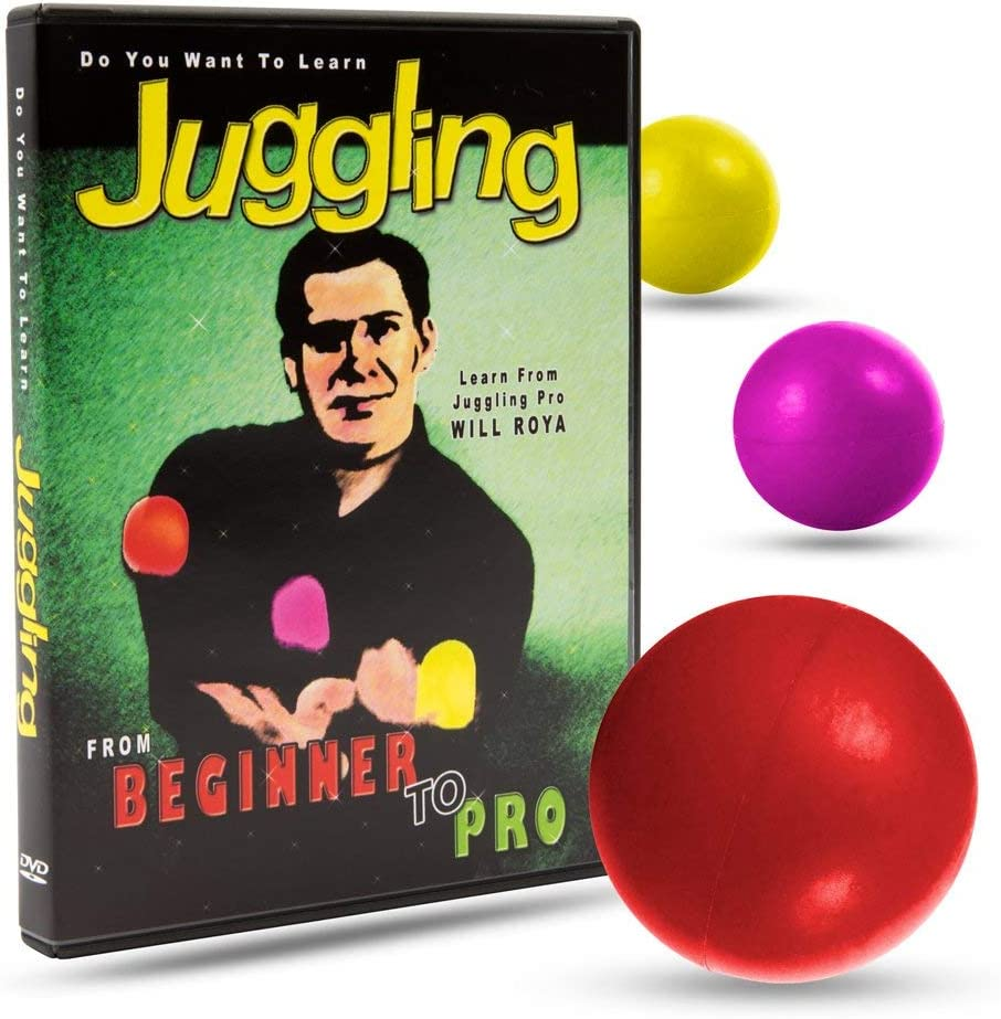 Amazon Com Magic Makers Do You Want To Learn Juggling With Will Roya Beginner To Pro Instructional Guide Toys Games