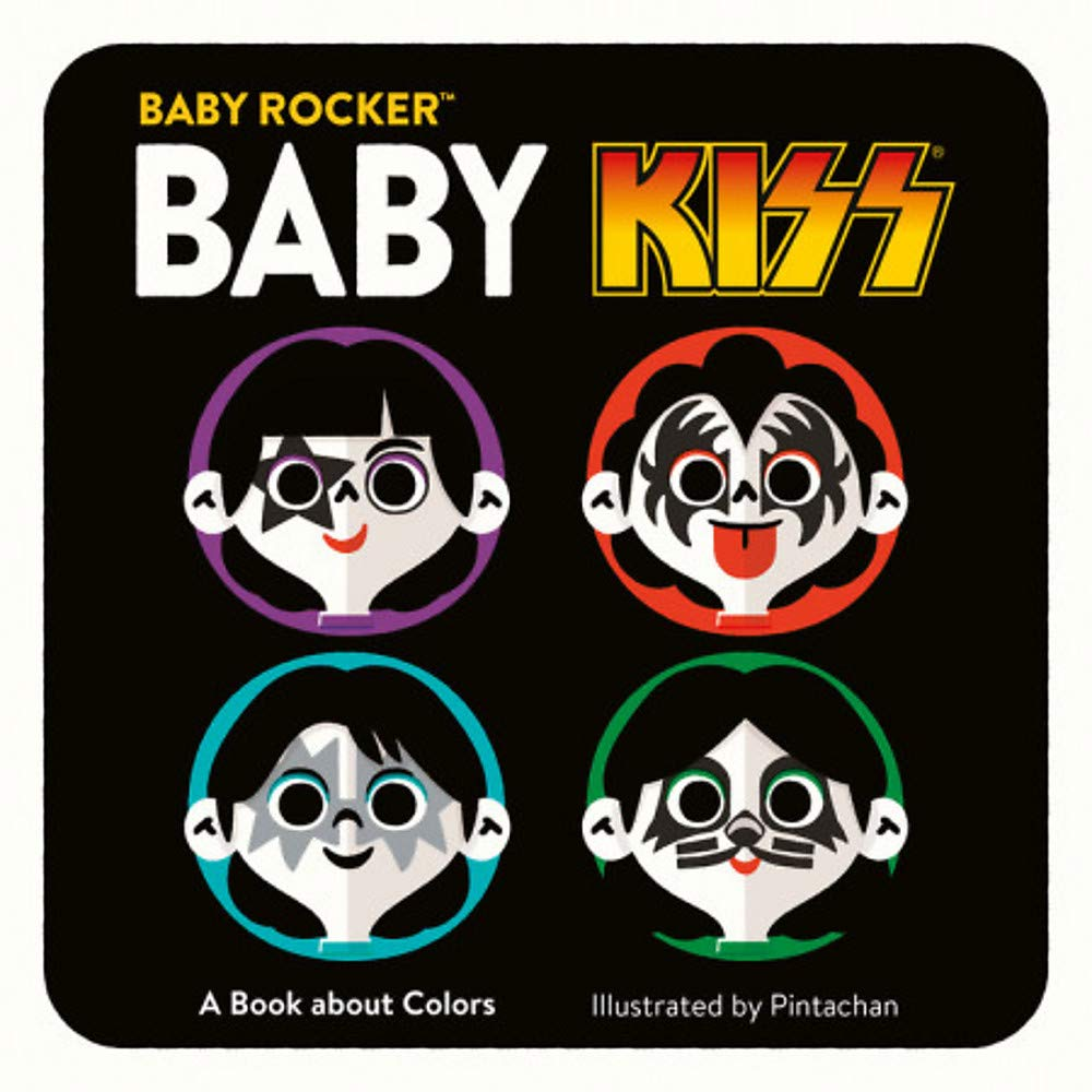 Amazon.com: Baby KISS: A Book about Colors (Baby Rocker ...