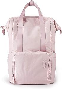 Laptop Backpack for Women, BAGSMART Travel Backpacks for Women, Work Bags for Women, Lightweight Water Resistant Fits 15.6 Inch Laptop