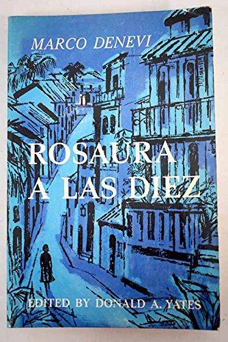 Rosaura A Las Diez (Spanish and English Edition)