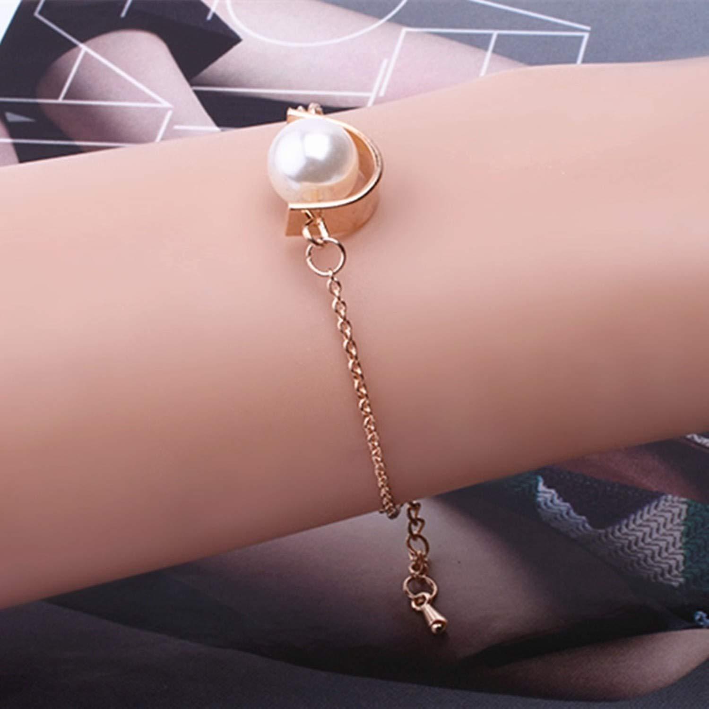 Amazon.com: JEWH Luxury Chain Link Bracelet for Women Ladies OL ...