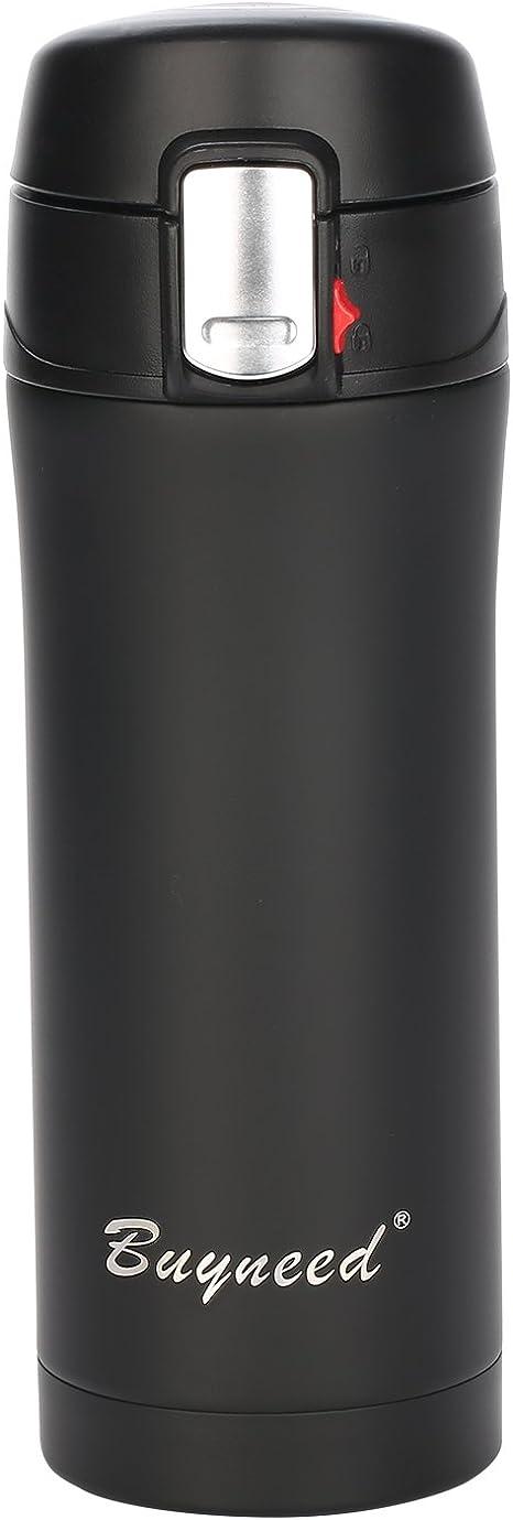 Taza termo de 500 ml con doble capa Forro estirado de acero inoxidable Taza aislada elegante