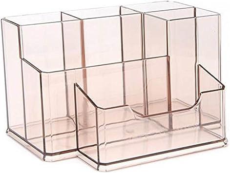 Desktop Desk Organizer Storage Case Box Brush Container Office Pencil Pe
