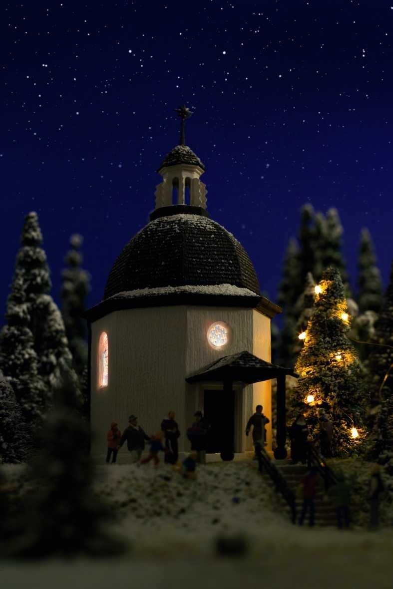 Vollmer 1290 Stille Nacht Gedächtniskapelle,Spur G incl Beleuchtung und CD