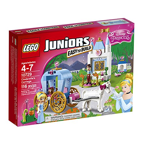 LEGO Juniors Cinderella's Carriage 10729 Building (Disney Princess Cinderella Castle)