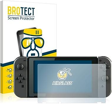 BROTECT Protector Pantalla Cristal Compatible con Nintendo Switch Protector Pantalla Vidrio Dureza 9H AirGlass: Amazon.es: Electrónica