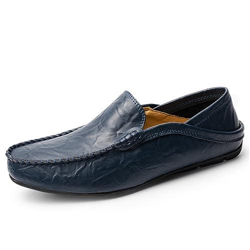 Chaussures Homme Bateau en daim Chaussures de ville Chaussures plates en solde ZcBNf