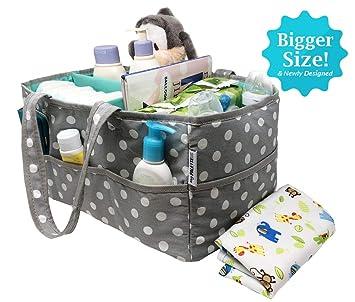 Amazon.com: Baby Diaper Caddy Organizador Nursery de ...