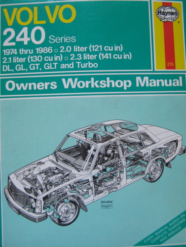 Volvo 240 Series, 1974 thru 1986, 2.0 liter, 2.1 liter, 2.3 liter, DL, GL, GT, GLT and Turbo: J H Haynes and Bruce Gilmour: Amazon.com: Books