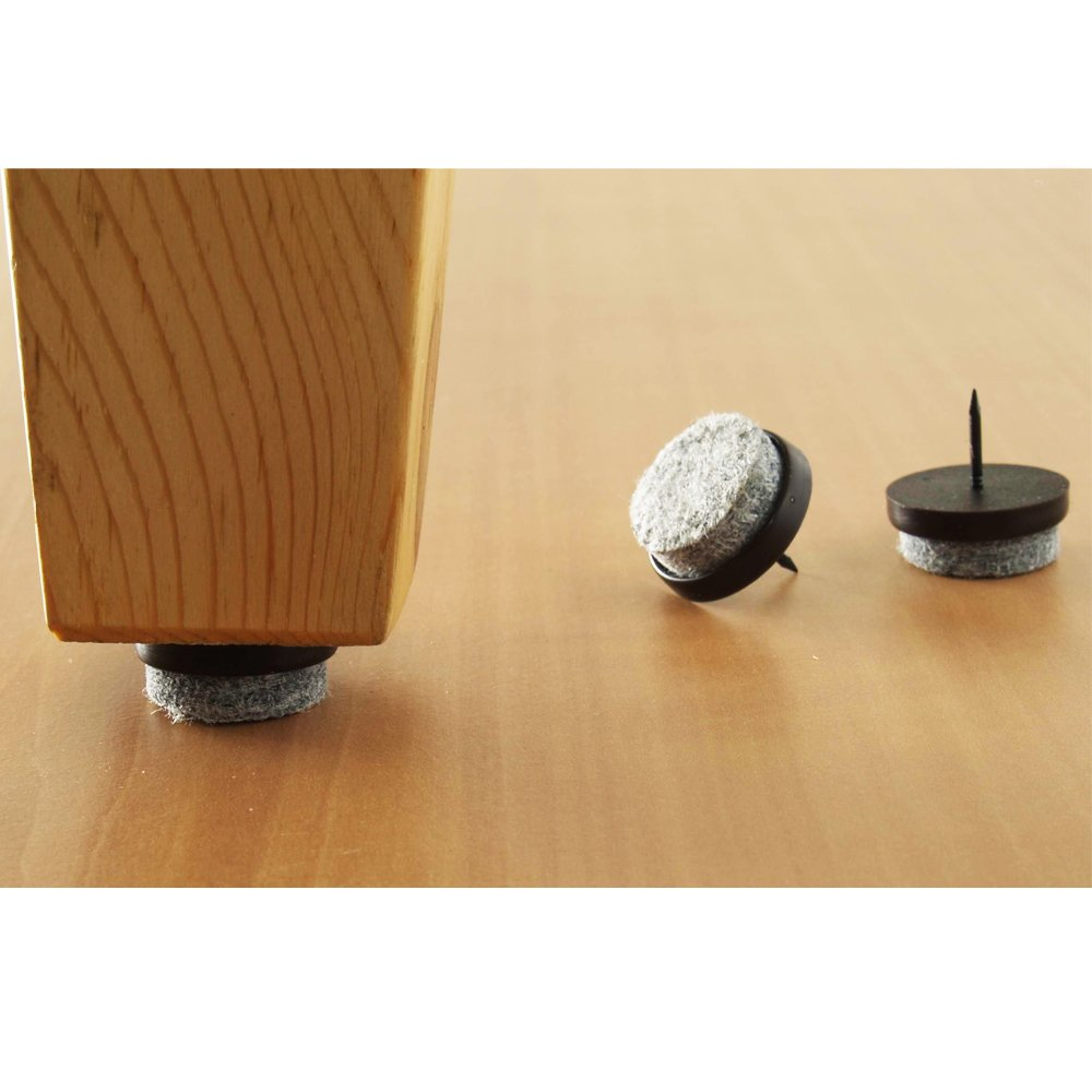 Marvelous 32 Pc Furniture Table Chair Leg Floor Felt Pad Skid Glide Slide Nail  Protector     Amazon.com