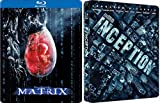 Steelbook Double Pack Inception & The Matrix Sci-Fi Exclusive Blu Ray 2 Movie set Feature Special Edition Set