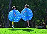 """Bumper Balls, PACKGOUT Inflatable Body Bubble Ball Christmas Gifts Sumo Bumper Bopper Toys for Kids & Adults 36"""" – 2 Balls Included"""