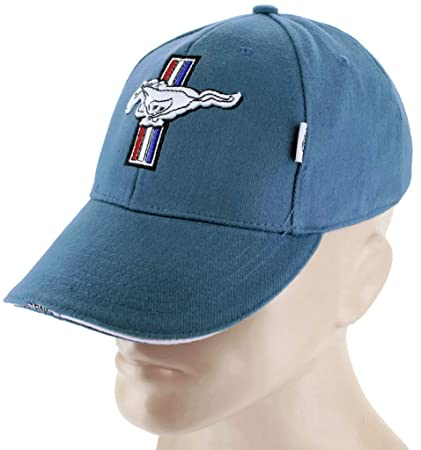 Amazon.com  DanteGTS Ford Mustang GT Blue Baseball Cap Trucker Hat Snapback  5.0 Liter Cobra  Automotive 008df5fb4dcf