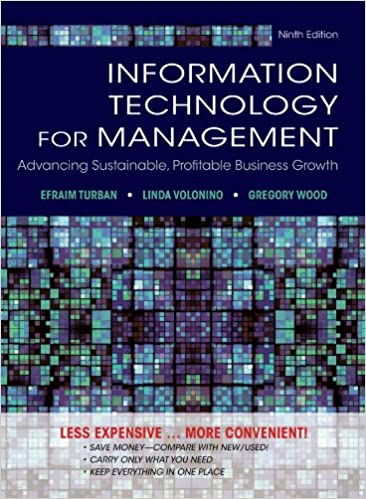 Information Technology for Management - Turban