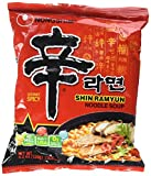 Shin Ramyun Hot Spicy Noodle Soup (Nong Shim-Gourmet Spicy) for 20 Bags by Nong Shim For Sale